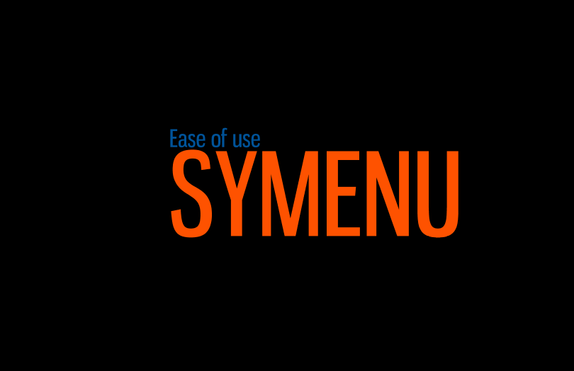 SyMenu Ease of use