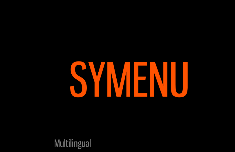 SyMenu Multilingual