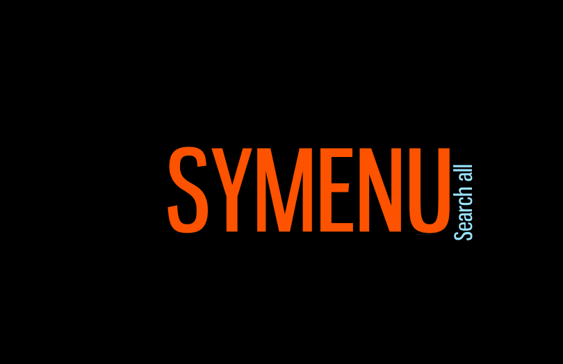 SyMenu Search all